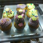 What amazing cupcakes in the White Gables!
