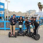 Segway tour by Santa Monica pier