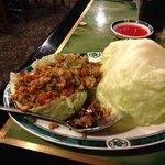 yummy lettuce wraps!