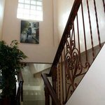 Staircase to our awaiting beds
