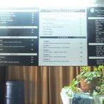 Elevated menu board