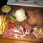 A wonderful cured meat plate