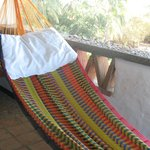 A hammock is a great place to read.  Or snooze.