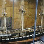 An amazing model of the ship