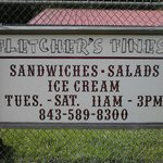 They have Sandwiches, Salads, Specials, and Icecream!!