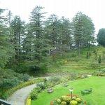 extensive grounds
