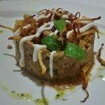 Borani Bademjoon appetizer