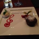 Chocolate pudding at the Jazz Bar - a must :-)