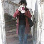 Зеркало на лестнице