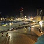 Vista desde la terraza del casino (a 200 mts del hotel)