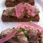 Chicken Liver on handmade toast