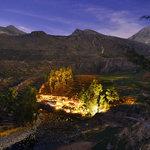 Vista general de Aranwa Pueblito Encantado el Colca