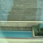 Pool aus dem vierten Stock