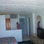 Room - kitchen view