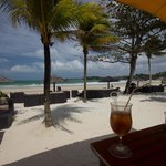 The Panai beach restaurant