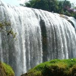 Mountain Waterfall Near Da Lat