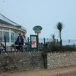 Harvester at Durley Chine