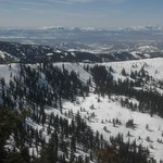 A wonderful view of the Utah mountains