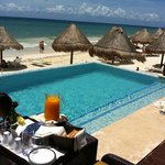 Café servido no quarto - Oceanfront Casita Suite