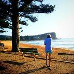 Early morning Avalon Beach