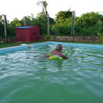 Our swimming area