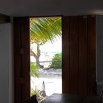 Vista da porta