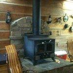 Homesteader fireplace