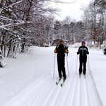 Miles of Groomed Cross-Country Ski Trails