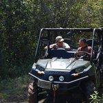 On tour with Ebar in Polaris ATV