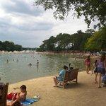 Conleau sea water 'swimming pool'