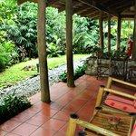 Porch of standard room