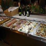 Part of the buffet.