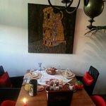 ontbijt in galerie