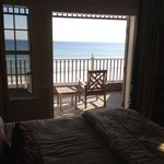 View looking out room 210