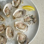 Fresh Local Oysters. Featuring Denman Islands Hollie Woods' Satori and Zen