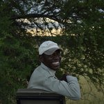 our tracker Eric! so excited about our cheetah sighting