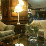 Lobby del hotel, muy confortable para trabajar o tomar una copa tranquilamente