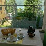 colazione nella bella veranda
