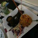 Churrasco en Salsa de Tamarindo, Relleno de amarillos