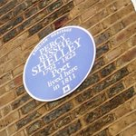 Percy Bysshe Shelley lived here in 1811