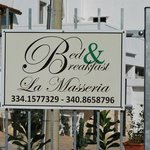 Photo de B&B La Masseria