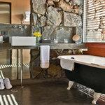 Bathroom corner and luxury room