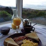 Breakfast view at Drom Ard