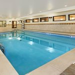 Indoor Pool Area with Hot Tub
