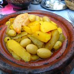 Veg tagine (not actually from Amssaffah but v. similar)