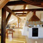 Loft - the kitchen