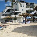 our beach & room