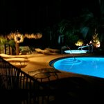 Kona Kai pool at night