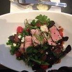 Ahi Tuna Salad (my way)