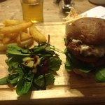 the Bell burger with triple cooked chips!